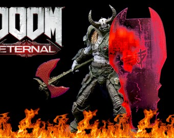 Doom Eternal Doomslayer Wearable Armor Template For Eva Foam Etsy