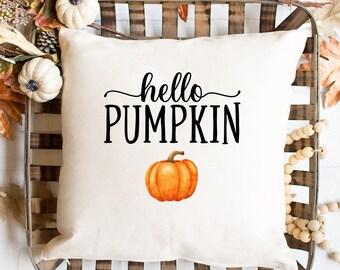 Pumpkin Pillow Etsy