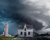 Abandoned Storm | Fine Art Print, Landscape Photography, Storm Photography