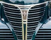 1946 Fargo Front Grill  | Fargo, 1946, Dodge, classic, classic truck, hood ornament, globe, globe hood ornament