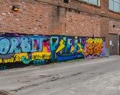 Woodstock Street Art – Fine Art Print, Street Art, Graffiti, Urban Art