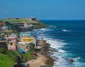San Juan, Puerto Rico – Taken From Castillo De San Cristobal, Overlooking Castillo San Felippe Del Morrow