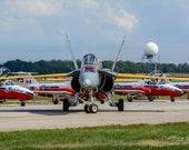 2016 CF-18 Demo Jet – Capt. Ryan Kean, RCAF, Airshow London Ontario