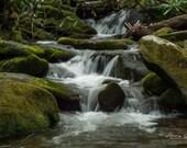 Waterfalls, Smoky Mountains – Roaring Fork, Gatlinburg, Smokymountains, Nature Photography, Travel Photography