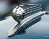 1946 Fargo hood ornament – Fargo, 1946, Dodge, classic, classic truck, hood ornament, globe, globe hood ornament