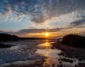 Sunset at Luther Marsh | Fine Art, Landscape Photography, Sunrise, Sunset, Luther Marsh