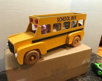 Wood School Bus