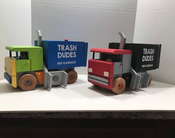 Garbage Truck - Now There's Two Colors!