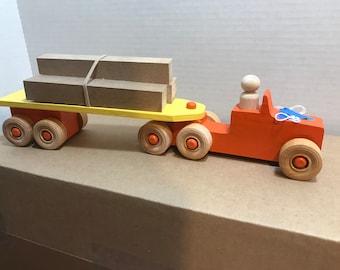 Toy Semi - Truck