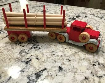 1920's Log Truck