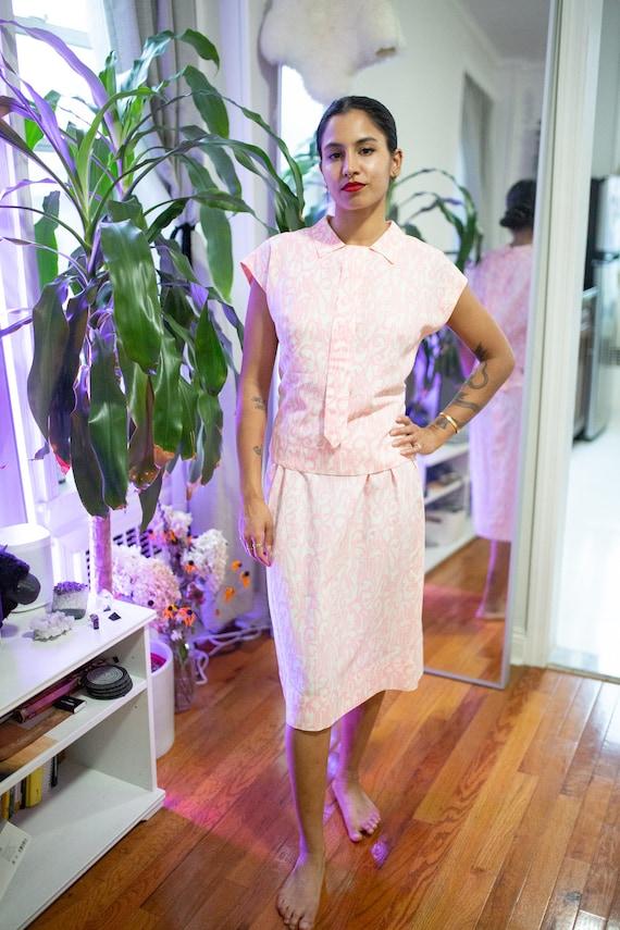 1950s L'Aiglon Two-Piece  Dress