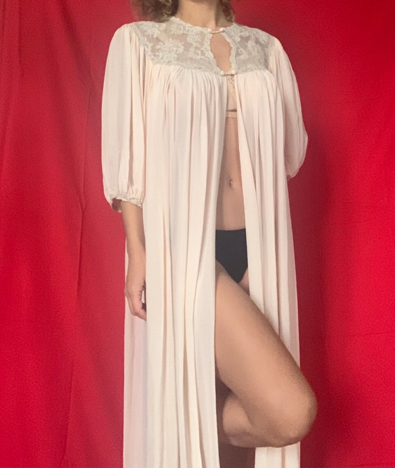 Vintage Silk Dressing Gown (1940)