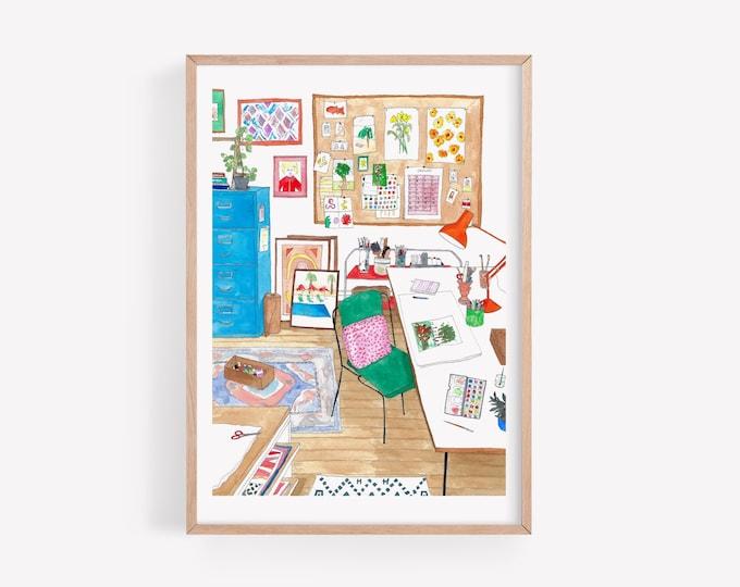 Art Studio Print