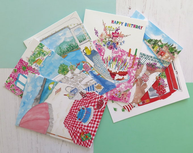 Greeting Card Bundle of 6 - Choose which ones you want!