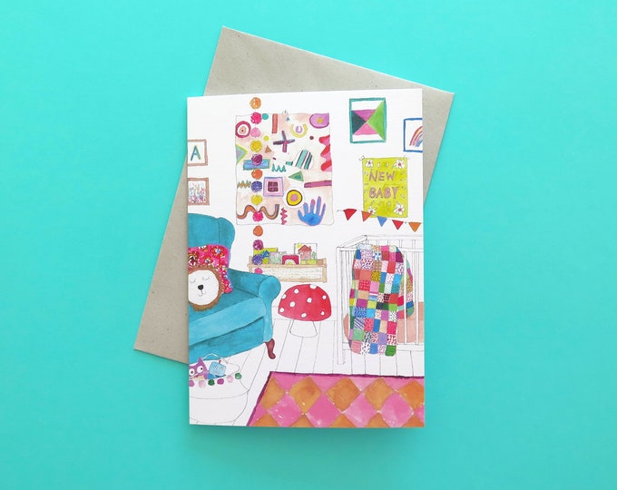 Nursery Greeting Card