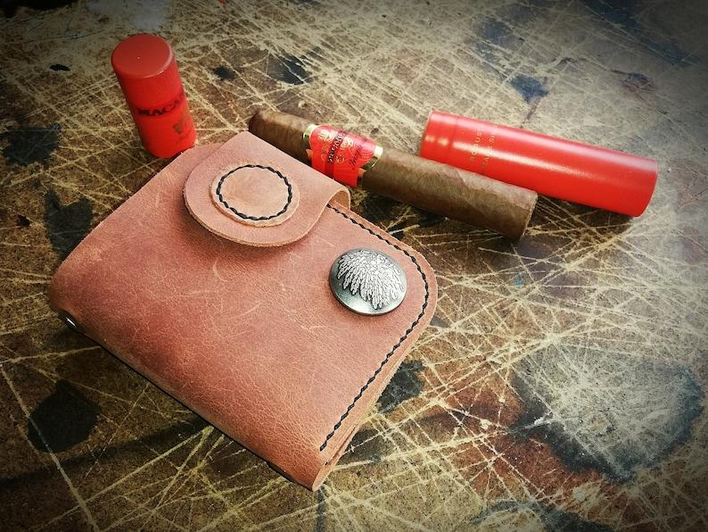 biker card wallet Man/'s leather wallet small biker/' s wallet leather wallet handmade wallet