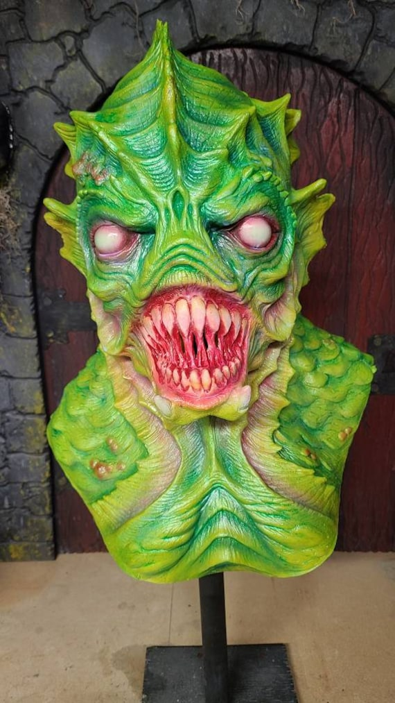 Lagoon Dweller sea creature mask