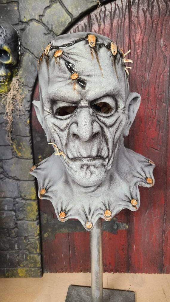 Rust Bucket. Frankenstein inspired latex mask
