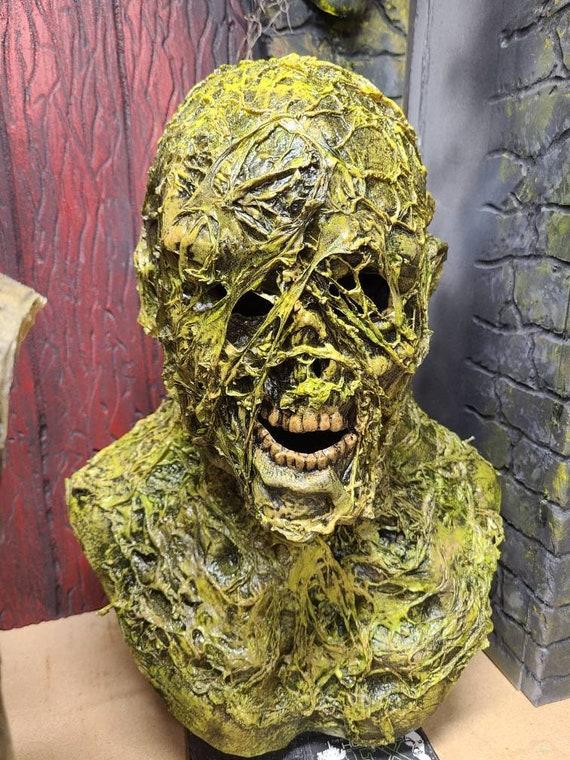Swamp Zombie full head latex mask