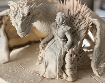 Fan Art «Game of Thrones» - «Mother of the Dragons»