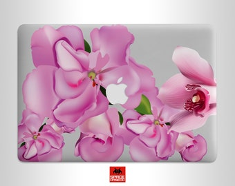 Spring Flowers Macbook Pro 16 Inch Case Pink Macbook Air 13 Inch Case 13 Inch Macbook Pro Case 15 Inch Macbook Pro Case Summer Print CW0006