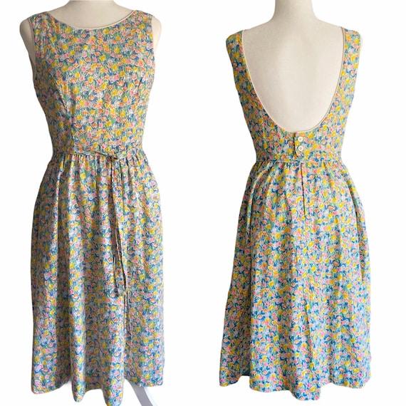 1960's Lanz of Salzburg Meadow Dress