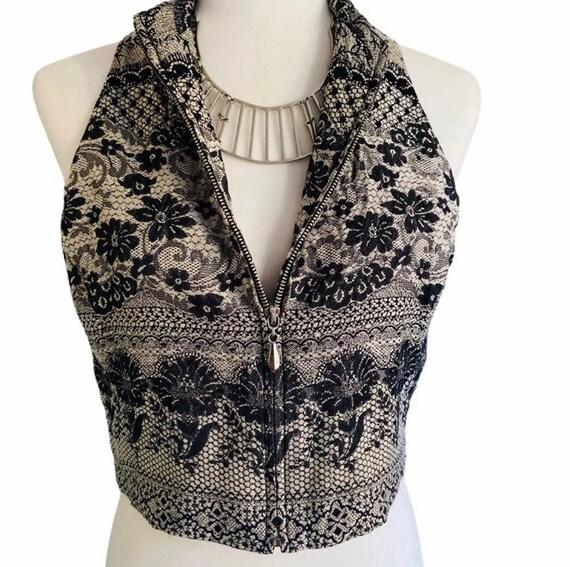 Vintage 1980's Emanuel Ungaro Silk Vest