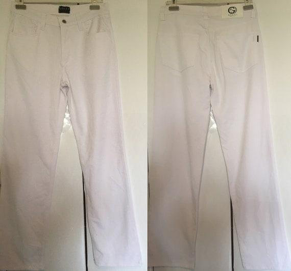 GUCCI White Jeans