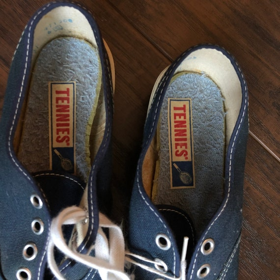 60's Vintage Women's Tennies Shoes | Deadstock - image 3