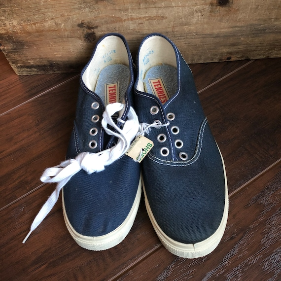60's Vintage Women's Tennies Shoes | Deadstock - image 1