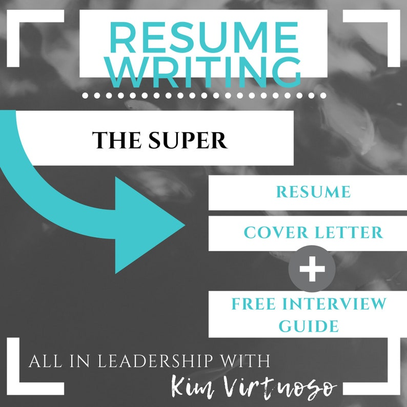 The Super Package: Resume Cover Letter & Free Interview Guide image 0