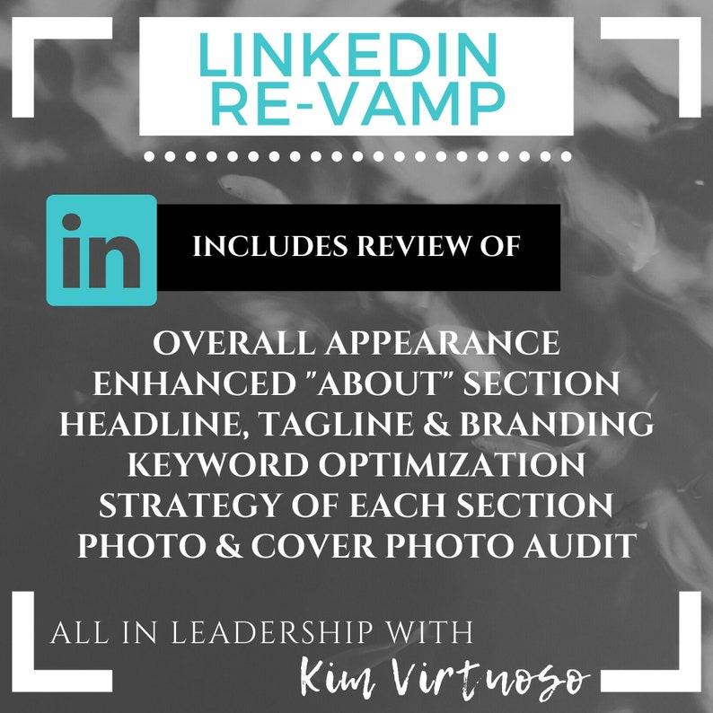 LinkedIn Re-vamp: Resume Writing Resume Writing Service image 0