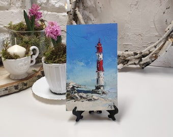Aniva lighthouse artwork by Mary Lee
