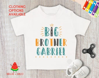 Personalised Big Little Cousin Brother Sister Set Tshirt Sleepsuit Gro New Gift