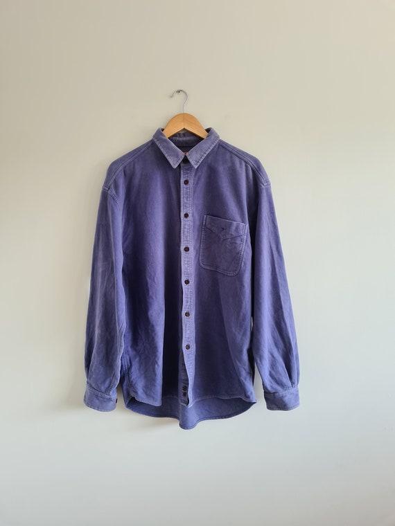 Mens RM Williams Shirt | Indigo blue shirt | cotto