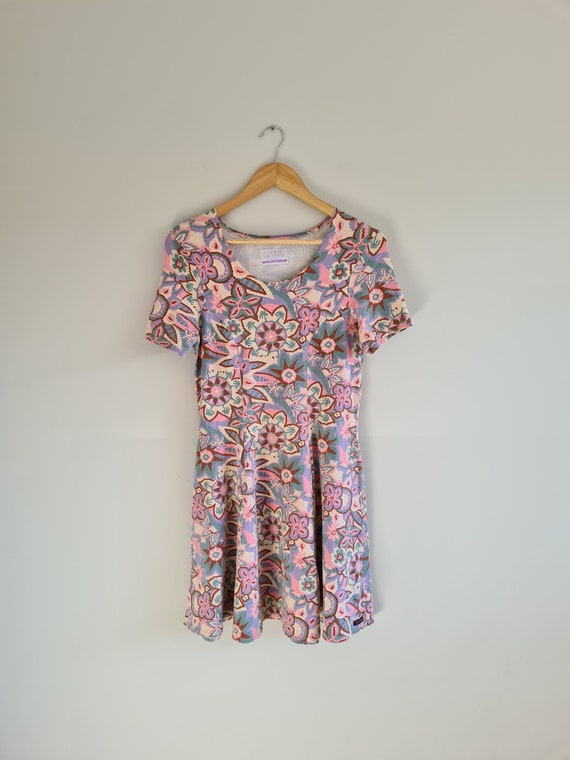 90s Baby doll dress | skater dress | mini dress |