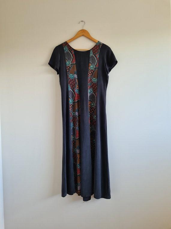 Vintage Silk Dress | Laced Back | 90s silk dress |