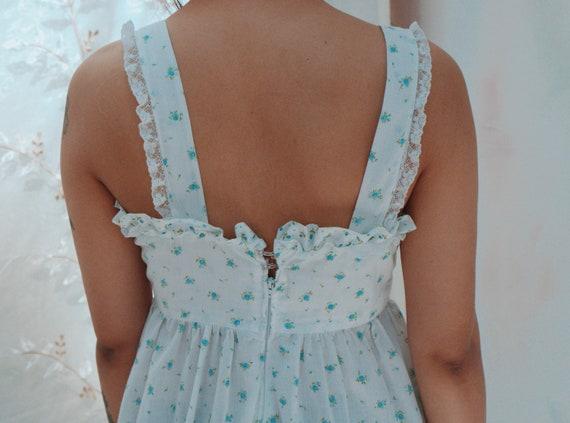 Handmade Prairie Dress // Ditsy Floral Print - image 8