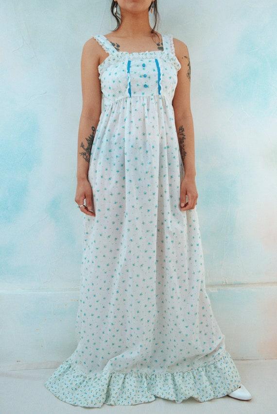 Handmade Prairie Dress // Ditsy Floral Print - image 9