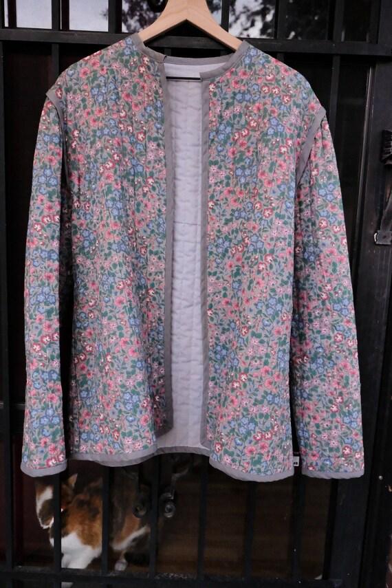 Floral Quilt Coat