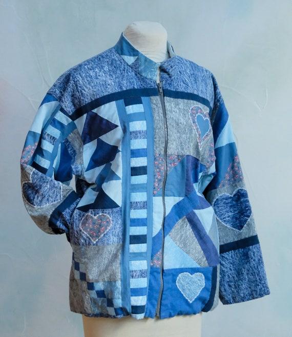 Patchwork Denim Jacket - image 5