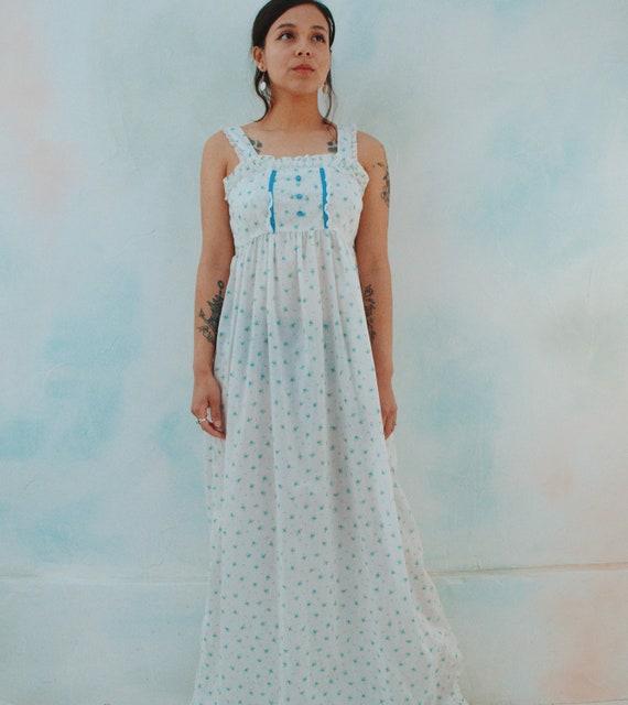 Handmade Prairie Dress // Ditsy Floral Print - image 10