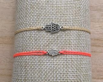 Hamsa Hand Waterproof Bracelet or Anklet