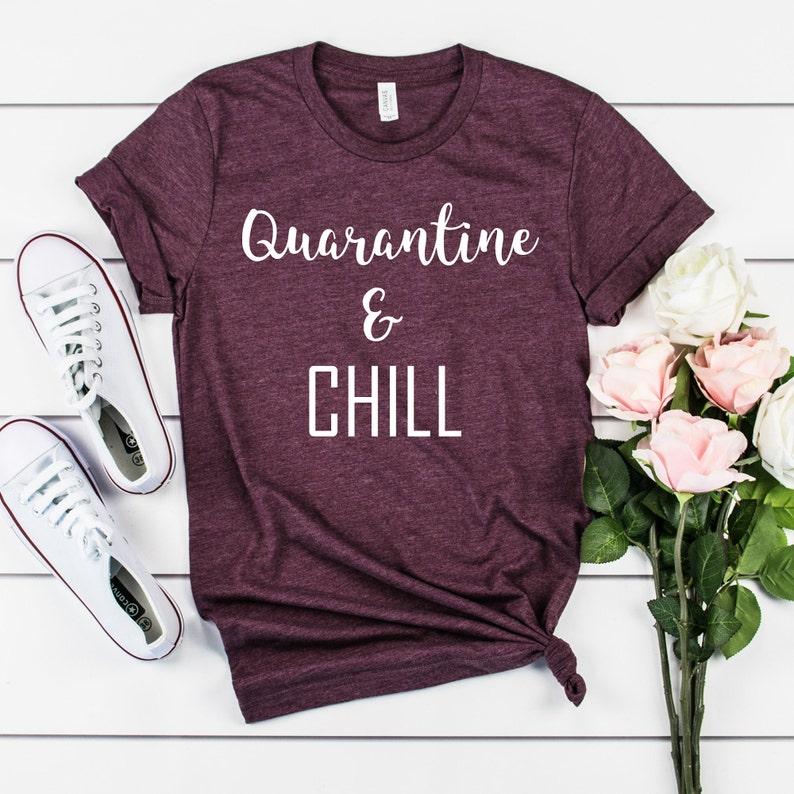 Social distancing expert t-shirt quarantine shirt social image 0