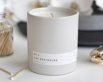 No. 01 The Beginning Scented Candle