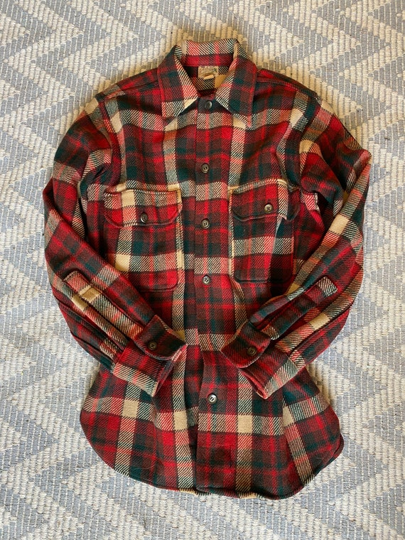 Vintage 1940's Wool Shirt