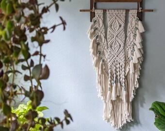 Macrame Wall Hanging, Bohemian Tapestry, Wall Decor, Boho Aesthetic