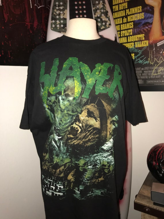 Vintage 90s Slayer Diabolus Tour concert t shirt
