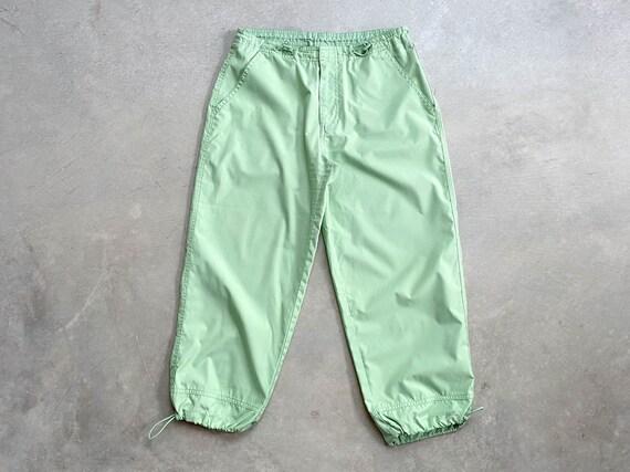 Slime Green Track Pants - Vintage Track Pants - Y2