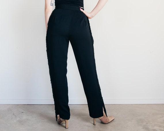 Vintage Fringe Pants – Harve Benard Pants – Salsa